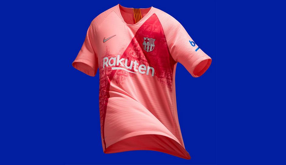 c01ebdae5acf01 Der FC Barcelona hat sein drittes Trikot für die Saison 2018 19  vorgestellt. Nike