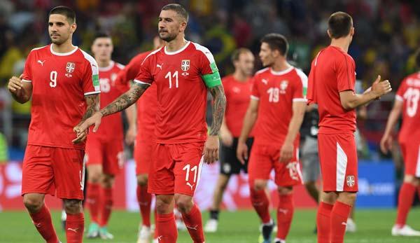 Serbien Fußball Nationalmannschaft