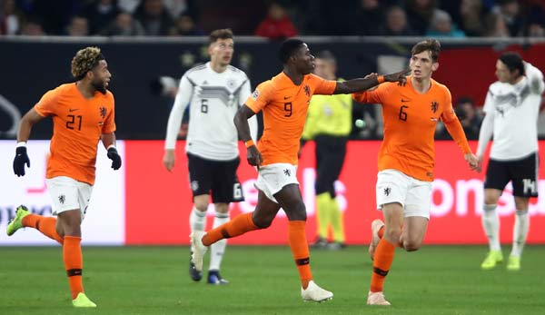 Highlights Deutschland Gegen Niederlande Van Dijk Schockt Starkes