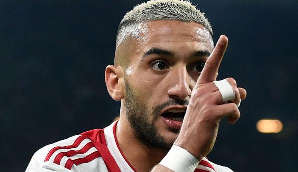 Ajax-Sportdirektor Marc Overmars bestätigt: Hakim Ziyech darf Amsterdam bei gutem Angebot verlassen