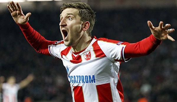 Marko Marin von Roter Stern Belgrad ist Spieler des Jahres in Serbien