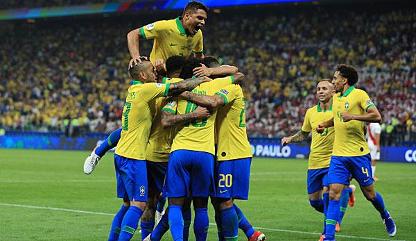 Copa America: Brasilien mit Kantersieg gegen Peru - auch Venezuela darf jubeln