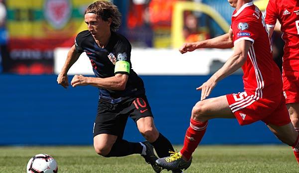 Kroatien Gegen Wales