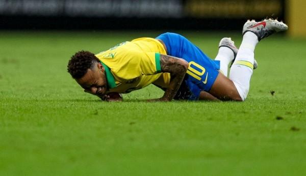 Verletzung Neymar