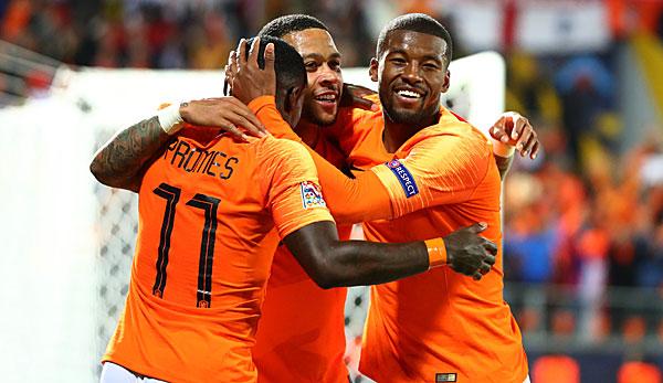 Niederlande England