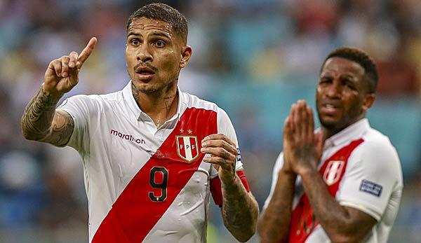 Copa America: Nullnummer für Peru mit Farfan und Guerrero