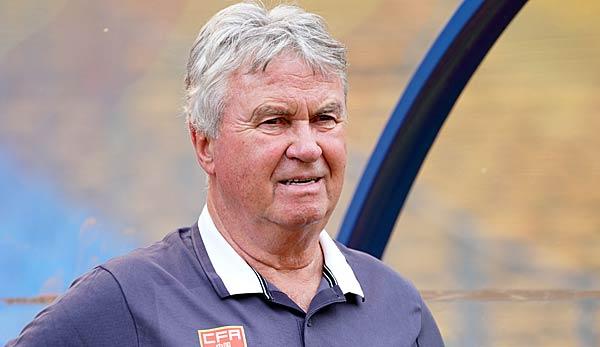 Guus Hiddink nicht mehr Trainer der chinesischen Olympiaauswahl