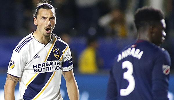 Zlatan Ibrahimovic knackt Vereinsrekord bei LA Galaxy