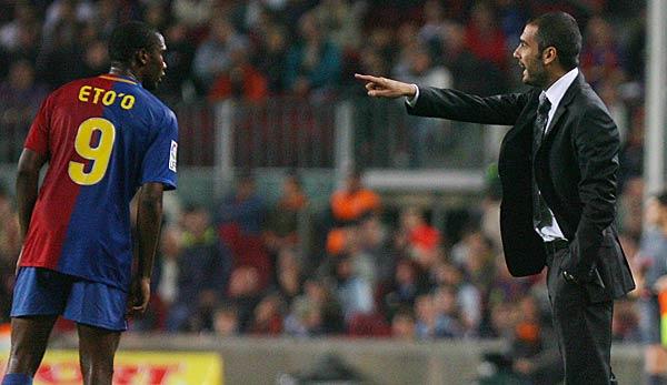 Samuel Eto'o über Pep Guardiola: Ich liebe ihn als Trainer, aber nicht als Mensch