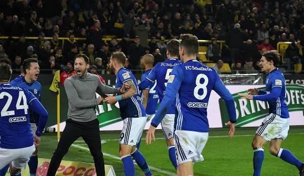 Un moment magique: Domenico Tedesco et le 4: 4 dans le derby de BVB.