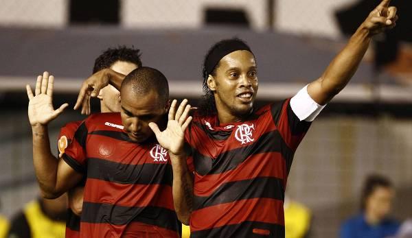 Ronaldinho est devenu le vainqueur du match.