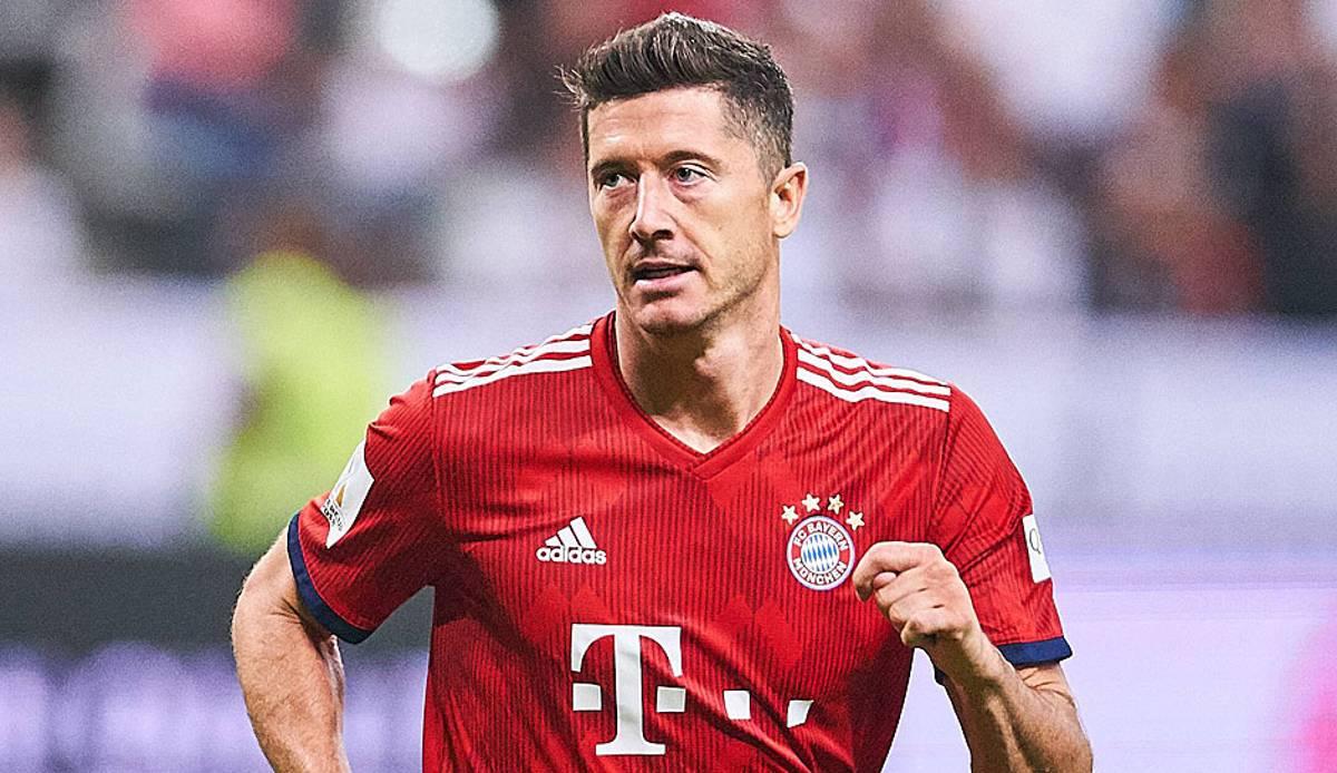 FC Bayern Robert Lewandowski U00fcber Die Enorme K U00f6rperliche