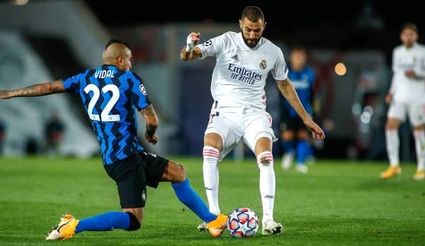 L'Inter Milan a perdu 3-2 contre le Real Madrid en Ligue des champions.