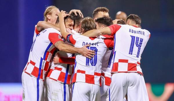 La Croatie n'est pas encore sous la forme de la Coupe du monde 2018.