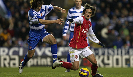 london, fußball, arsenal, rosicky, reading