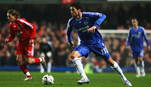Michael, Ballack, Chelsea, Liverpool, Comeback, Carling Cup
