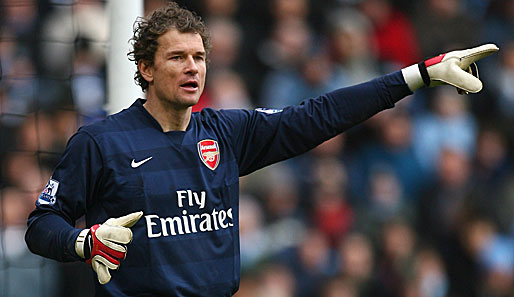Fußball, Premier League, FC Arsenal London, Lehmann
