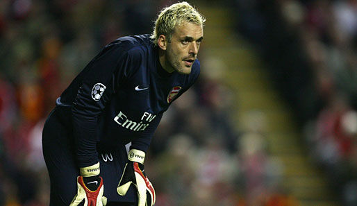 Fußball, Premier League, Arsenal, Almunia