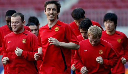 Fußball, England, Gary Neville, Manchester United