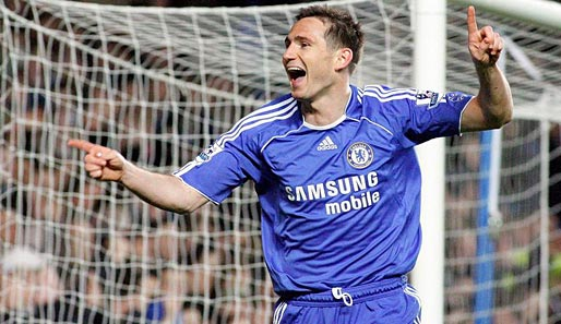Fußball, England, Chelsea, Frank Lampard