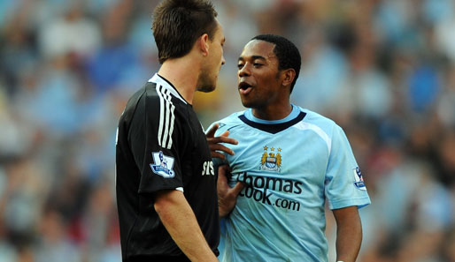 Terry, Robinho, Chelsea, Manchester City, Premier League
