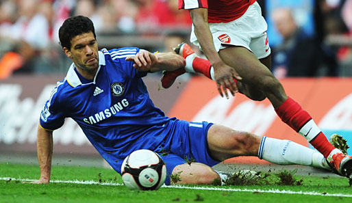 Michael Ballack wechselte 2006 an die Stamford Bridge nach London