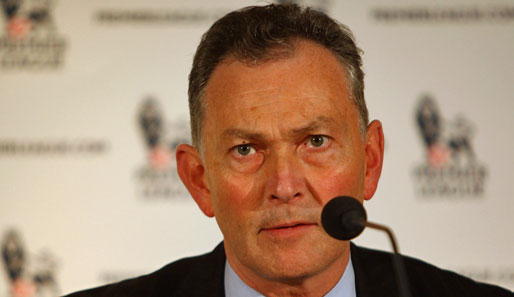 Seit November 1999 ist Richard Scudamore Generaldirektor der Premier League