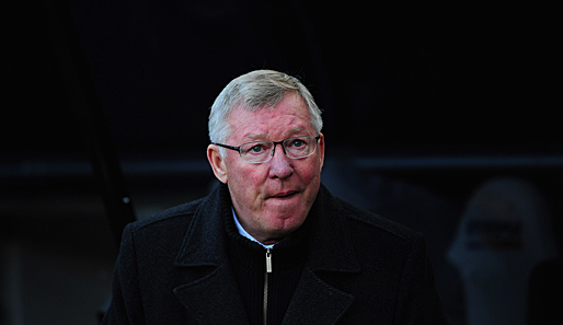 """Not amused"": Manchester-Legende Sir Alex Ferguson"