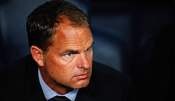 Bald in London? Frank de Boer soll Topkandidat bei den Spurs sein