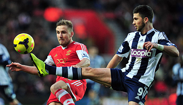 Shane Long (r.) erzielte in dieser Saison in 15 Premier-League-Partien drei Tore