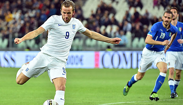 Harry Kane gilt als Englands neuer Shootingstar