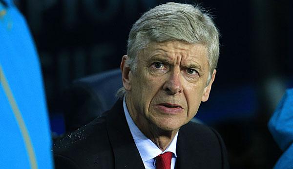 Arsene Wenger ist seit 1996 beim FC Arsenal