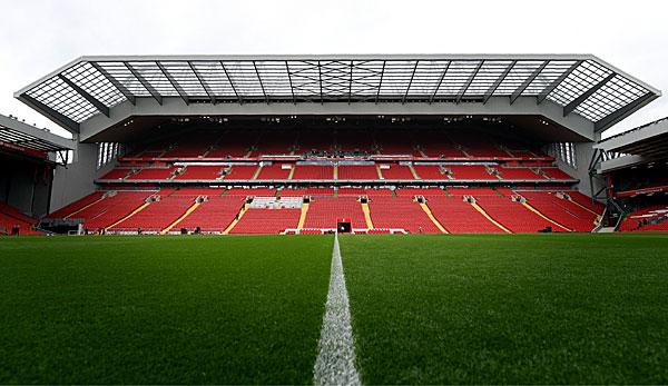 Fc Liverpool Anfield Road Mit Neuer Tribune Jurgen Klopp Schwarmt