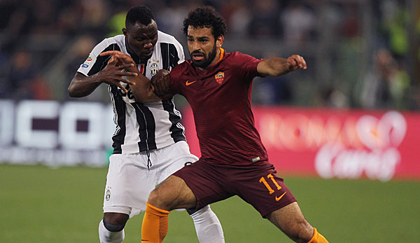 Mohamed Salah wechselte 2014 vom FC Chelsea zur AS Roma