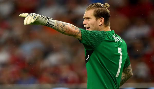Fc Liverpool Loris Karius Steht Zum Champions League Auftakt Im Tor