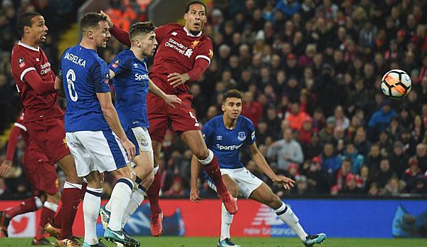 Fußball: Liverpool gewinnt Derby im FA-Cup