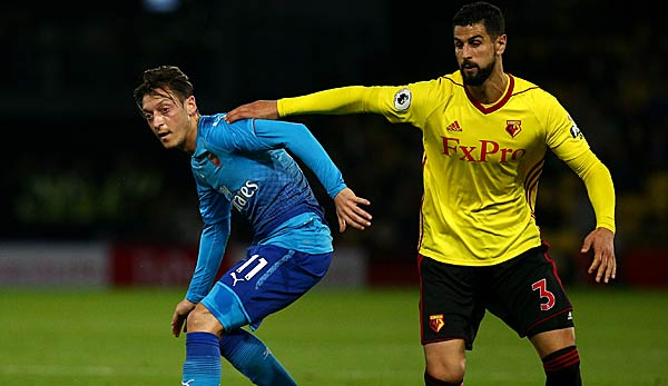 Arsenal findet gegen Watford zurück auf die Siegerstraße