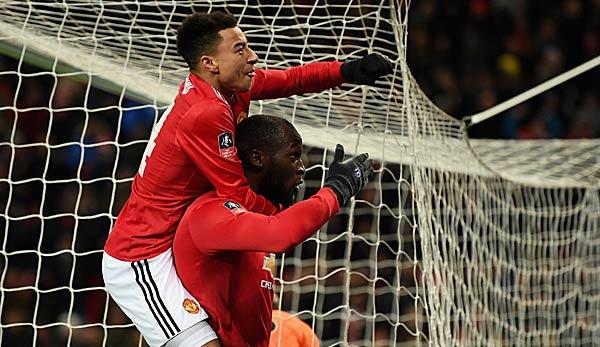 FA Cup: Manchester United wahrt letzte Titelchance - Tottenham schlägt Swansea