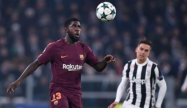 Interesse Von Manchester United Samuel Umtiti Lehnt Angeblich Barca