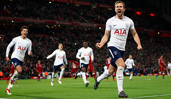 Harry Kane will mit Tottenham die Meisterschaft holen.