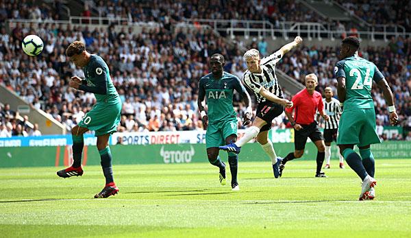 Newcastle Gegen Tottenham