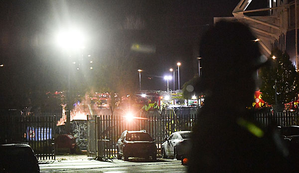 Hubschrauber Leicester