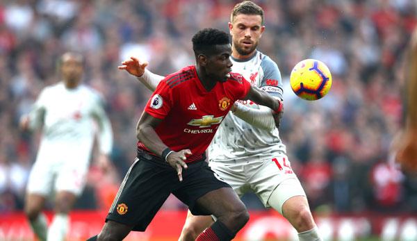 Premier League Liverpool Lässt Zwei Punkte Bei Manchester United Liegen