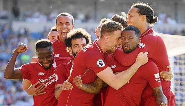 Liverpool wieder Tabellenführer, Arsenal und Manchester United patzen