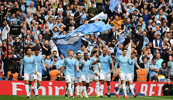 Manchester City gewinnt FA Cup und historisches Triple