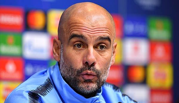 Premier League: Pep Guardiola wütet nach Triple-Gewinn gegen Reporterfrage