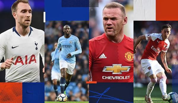 Diashow: Top 30: Die Spieler mit den meiste Assists in der Premier League der letzten 10 Jahre