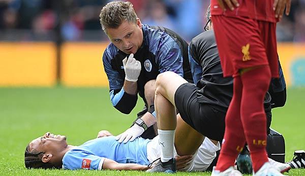Manchester City: Leroy Sane in Innsbruck am Kreuzband operiert