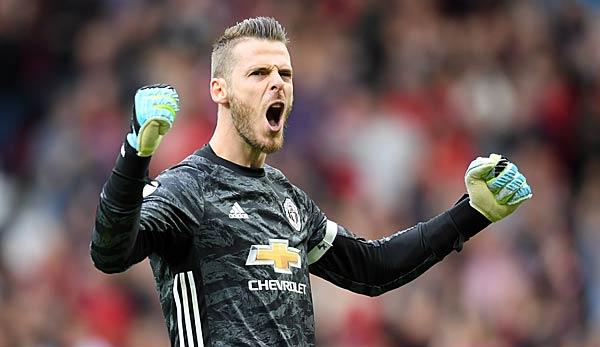 Offiziell: David de Gea verlängert bei Manchester United bis 2023