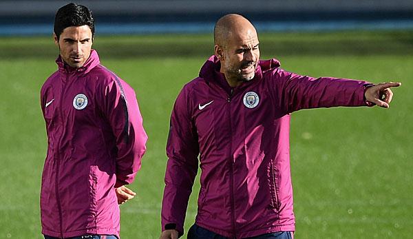 Manchester Citys Trainer Pep Guardiola über Assistent Mikel Arteta: Ziemlich sicher, dass er mein Nachfolger wird